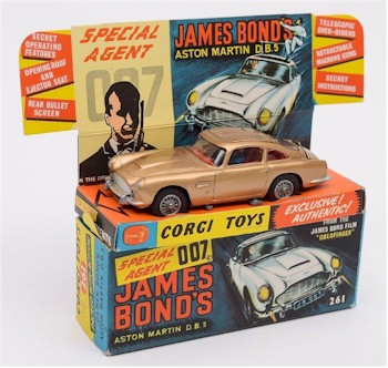A Corgi James Bond (007) Aston Martin DB5.
