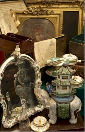 A selection of items in the Castle Hill Attic Sale Collection.