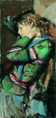 Mary in Green Jumper (Lot 163)