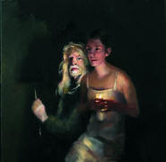 The Painter and Danielle in Candlelight (Lot 532)