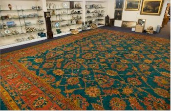 The very large Turkish Carpet (FS25/751) was fiercely thought over by telephone