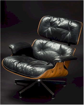The Eames Lounge Chair (FS26/998) is considered to be one of the greatest design