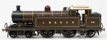 A Good Scratch Built Electric 4-4-2 Locomotive in LB&SCR Livery (SC23/1007)