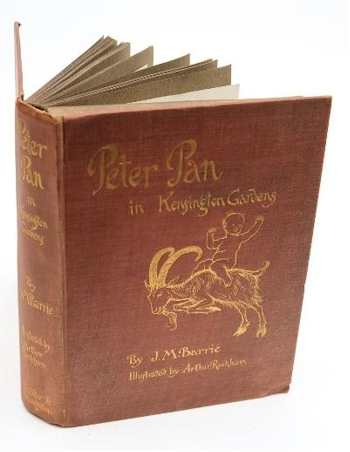Peter Pan in Kensington Gardens (BK17/95) by Arthur Rackham is offered in our Books, Maps and Prints Auction starting on 15th March 2017 at our salerooms in Exeter, Devon.