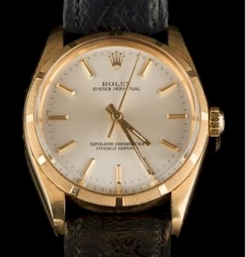 A Rolex Oyster Perpetual Wristwatch (FS34/213), which sold for £1,400 in 2017.