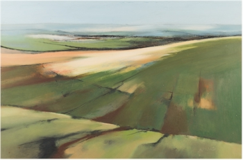 Michael J Praed (b 1941): Sweeping Moors (FS35/557). Estimate £150-£200.