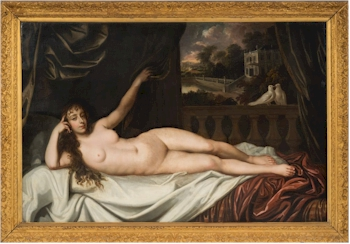 The recumbent nude from the studio of Sir Peter Lely (1618–1680) (FS35/402) fetched