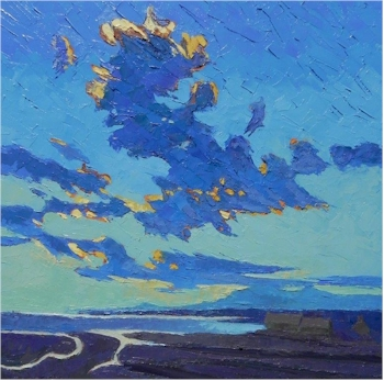 Isle of Skye: Towering Clouds over the Bay is being offered in the fundraising auction.