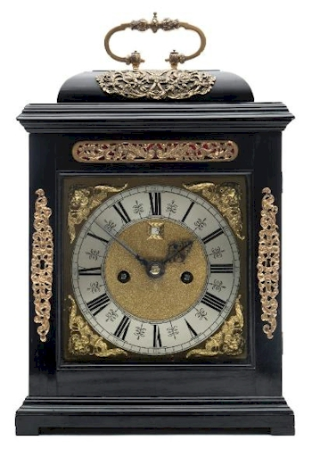 A late 17th Century Ebonised Bracket Clock (FS41/896) by by John Knibb of Oxon  is