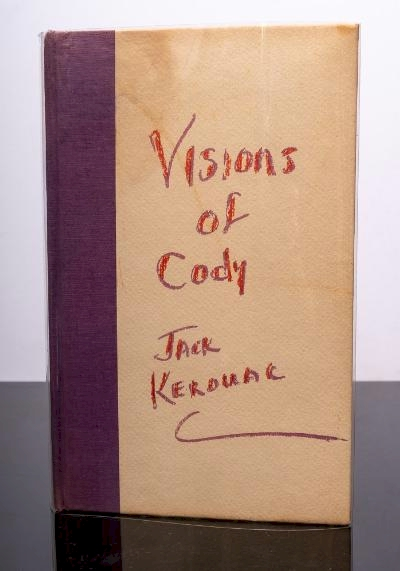 Excerpts From Visions of Cody (BK24/122) by Jack Kerouac offered in our Books, Maps
