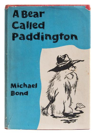 Sale BK20; Lot: 0114: BOND, Michael - A Bear called Paddington illustrated, original cloth in edge worn and price-clipped d/w, 8vo, Collins, first edition, 1958.