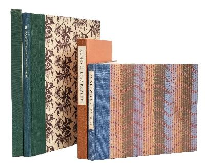 ROGERSON, Ian - Agnes Miller Parker wood-engraver and book illustrator, 1895-1980 cloth spine decorative paper covered boards in slipcase, 4to, 300 copies printed, the Fleece Press, Wakefield, 1990; with - Greenwood, Jeremy, the Wood-Engravings of John Nash, cloth backed decorative paper covered boards in slipcase, folio, standard edition, 750 copies printed, Wood Lea Press, Liverpool, 1987.