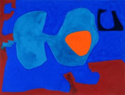 Sale FS12; Lot: 0311: Patrick Heron, RA (1920-1999) May IV 1976, signed and inscribed on the reverse.