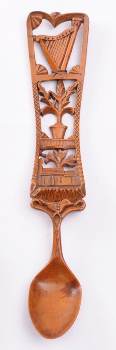A 19th Century Welsh Treen Love Spoon